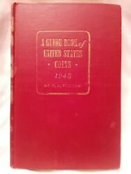 1948 Red Book Of Us Coins By R. S. Yeoman-very Nice Used Example 2nd Edition