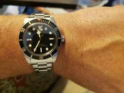 Tudor Black Bay Menand039s Black Watch - 79030n Box And Papers 2020 Model
