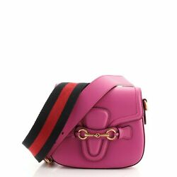 Gucci Lady Web Shoulder Bag Leather Small $1287.00
