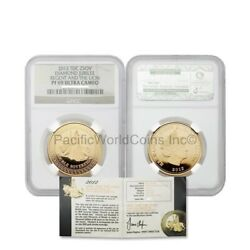 2012 Tdc Diamond Jubilee Regent And The Lion 2 Sovereign Gold Ngc Pf69 Sku 6321