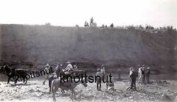 1910 Ford Truck Stuck In Wash California Ca Photo Native Americans Helping Ditch