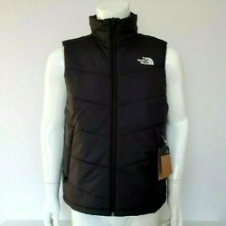 The Menand039s Junction Insulated Vest Tnf Black Sz S M L Xl Xxl