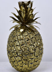 Vtg Freddotherm Golden Pineapple Ice-bucket Turnwald 70andrsquos Rare Bar Collectible