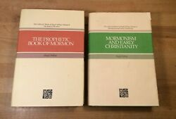 Lot Of 2 Hugh Nibley Hardcovers, Prophetic Book Of Mormon, Early Christianity