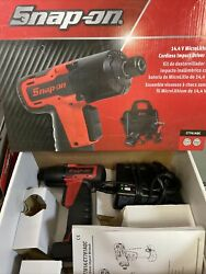 Snap On Tools 14.4v Cordless Screwdriver Gun With Battery