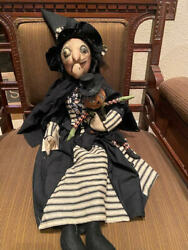 Joe Spencer Gathered Traditions Phoebe Witch With Pumpkin Doll New For 2021