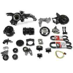 Holley 20-221bk Complete Accessory Drive Kit Gm Gen V Lt4 Supercharged Engines F