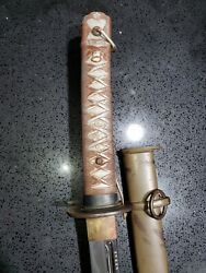 Wwii Japanese Army Officerand039s Nco Sword Scarce