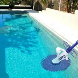 Automatic Swimming Pool Vacuum Cleaner Hover Climb Wall W/ Hose In Ground New Us
