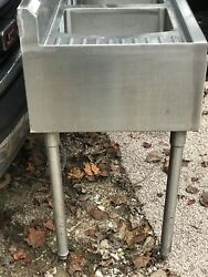 """48""""commercial Free Standing Sink 3 Compartment Kitchen,utility,stainless Steel"""