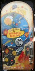Rendezvous In Space Tabletop Pinball Game By Wolverine Toy Vintage S9468 C. 1964