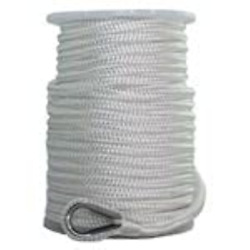 Sgt Knots Nylon Double Braid Anchor Line With Thimble For Boat Anchors And Ropes