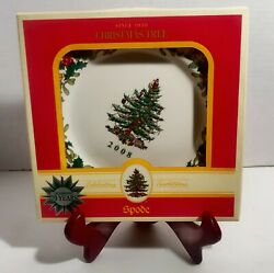 Spode Christmas Tree 2008 70th Anniversary 8 Annual Collector Plate