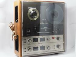 Vintage Pioneer Qt-6600 Quadrophonic Reel To Reel Tape Player Great Shape Read