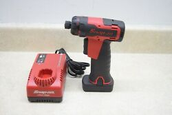 Snap-on Cts725 - 1/4 Hex Microlithium Cordless Screwdriver W/battery And Charger