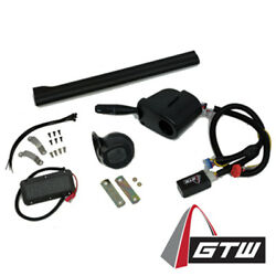 Gtw Upgrade Kit For Golf Cart Lights With Turn Signal Brake Switch Pad Horn