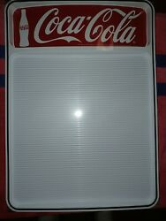 Two Sealed Coca-cola Menu Board Signs. Each W/2 Sets Of Letters And Numbers.