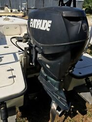 2006 60hp Evinrude Etec Outboard Motor E-tec Complete Engine With Controls