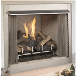 Superior 36 Outdoor Vf Fireplace White Stacked Electronic Valve Lp