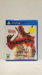 New Sealed Deadpool Sony Playstation 4 Ps4 Game Marvel