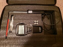 Tsi/alnor Avm440-a Velometer Thermal Anemometer, Articulated Probe, Humidity