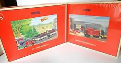 Lionel Two Buildings Un-built, Diner And Airplane Hanger.  N/box 4-pictures