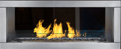 48 Outdoor Linear 2 Sided See Through Ng Fireplace