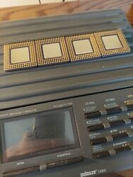 Lot Of 4 Intel I960 A80960hd66 For Gold Recovery