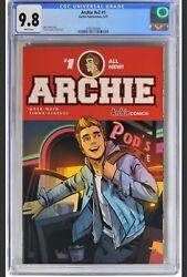 Archie 1 V2 2015 - Cgc 9.8 - Waid Story And Staples Cover And Art. Low Census