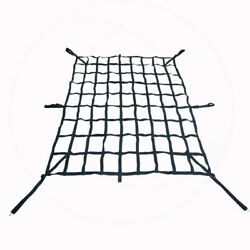 Fit Pontiac 64 Cargo Net Roof Top Tie Down Rear Trunk Mesh Cover Truck Bed