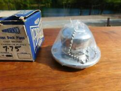 Vintage Nos Perko Rope And Chain Deck Pipe Chrome Made In Usa Nautical Boat Parts