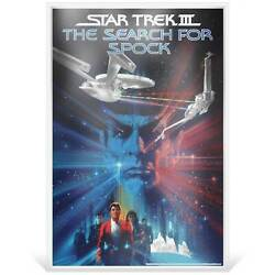 Star Trek Iii The Search For Spock 2018 35g Silver Foil