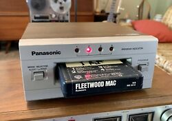 Panasonic Stereo 8-track Tape Player Deck Rs-853 Serviced See Video Demo