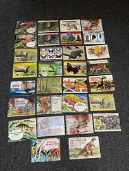 Job Lot Collection Of 30 Tea Cards Albums Brooke Bond And Pg Tips All Complete.