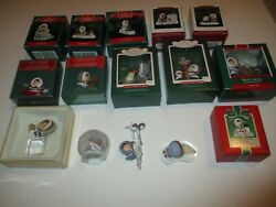 Complete Frosty Friends Ornament Collection 1980 - 2021 42 Ornaments Mint