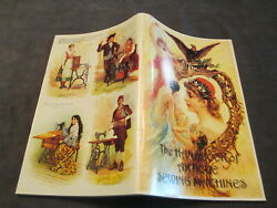 The Handbook Of Antique Sewing Machines By Charles Basebase Law Htf Ships Free