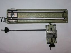 Unimat Sl1000 Or Db200 Db505-1 Bed Rails And Carriage All Bolts Austria 9