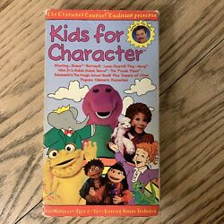 Kids for Character VHS $18.00