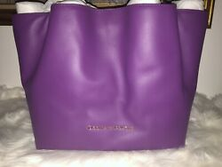 Dooney and Bourke Large Purple Flynn Tote $298.00