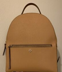 Tory Burch Emerson Saffiano Leather Backpack $190.00
