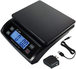 66 Lb 30 Kg Digital Postal Scale Shipping Packages Parcel Weighing Multifuncti