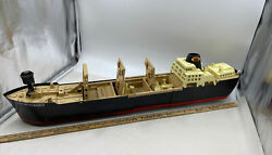 Ideal Phantom Raider Giant Ship Pr-135 Battery Operated Toy 1960s For Parts