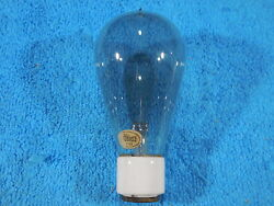 Edison/ge Carbon Filament Light Bulb From The Early 1900's Porcelain Base