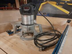 Porter Cable 3 Hp Variable 5 Speed Router 1/2 Collet Model 5182 Speedtronic