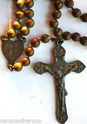 ⭐ Wwi Military Pull Chain Rosary ✞ Chaplin's Trench Rosaries ☧ Rare Prototype