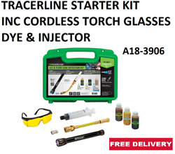 Tracerline Starter Kit Inc Cordless Torch Glasses Dye And Injector A18-3906