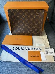 LOUIS VUITTON Toiletry Pouch 26 Multi purposed uses RARE amp; Impossible to find $1525.00