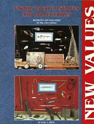 Antique Fishing Tackle Collectibles - Rods Reels Lures Etc. / Book + Values