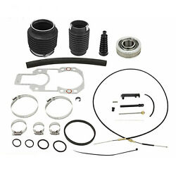 For Mercruiser Alpha 1 One Gen 2 Shift Cable+u-joints Bellow Transom Repair Kit