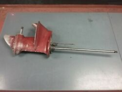 Lower Unit For A 1956 15 Hp Johnson Outboard Motor Fd-10